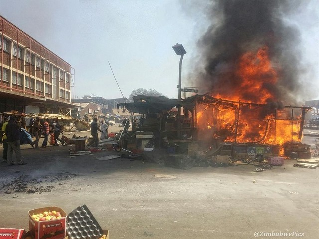 Zimbabwe Unrest 2016
