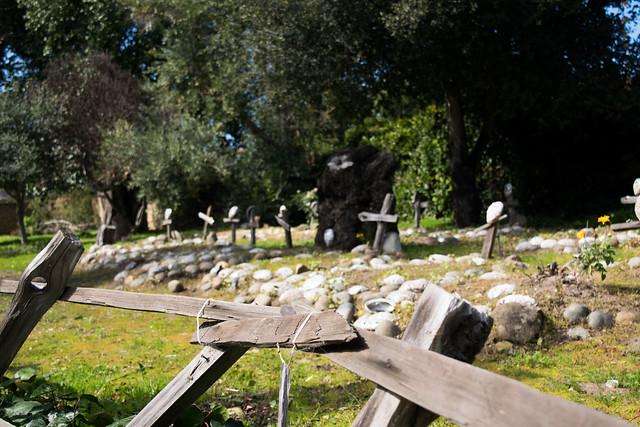 Graveyard At Mission Carmel