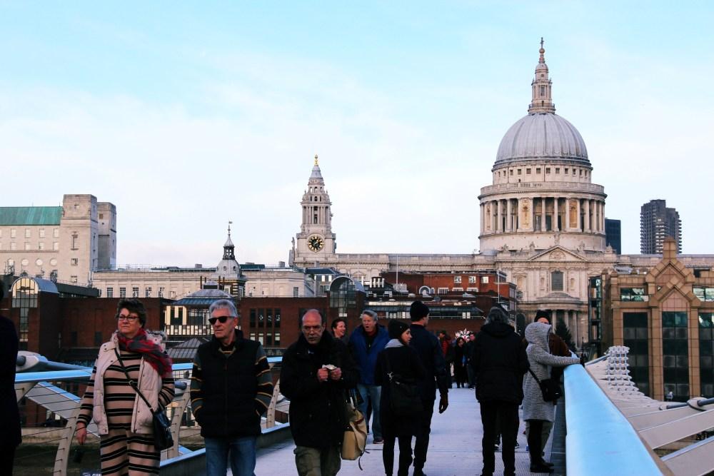 11 Dec 2016: Millennium Bridge   London, England_