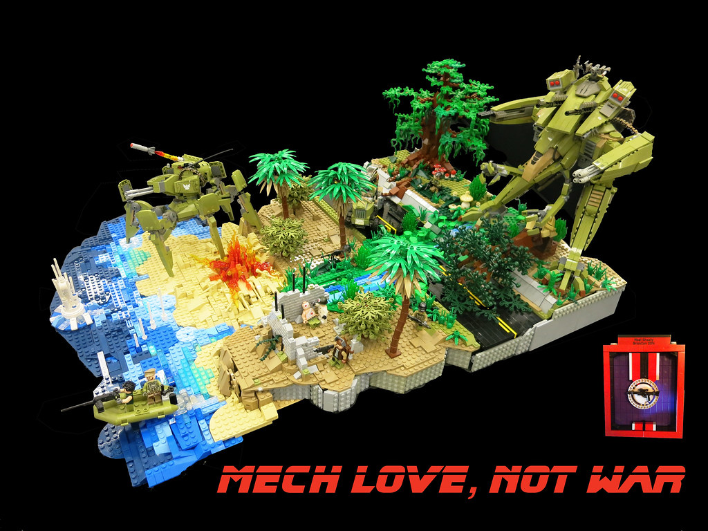 MECH LOVE NOT WAR My Contribution To The MECHA Category