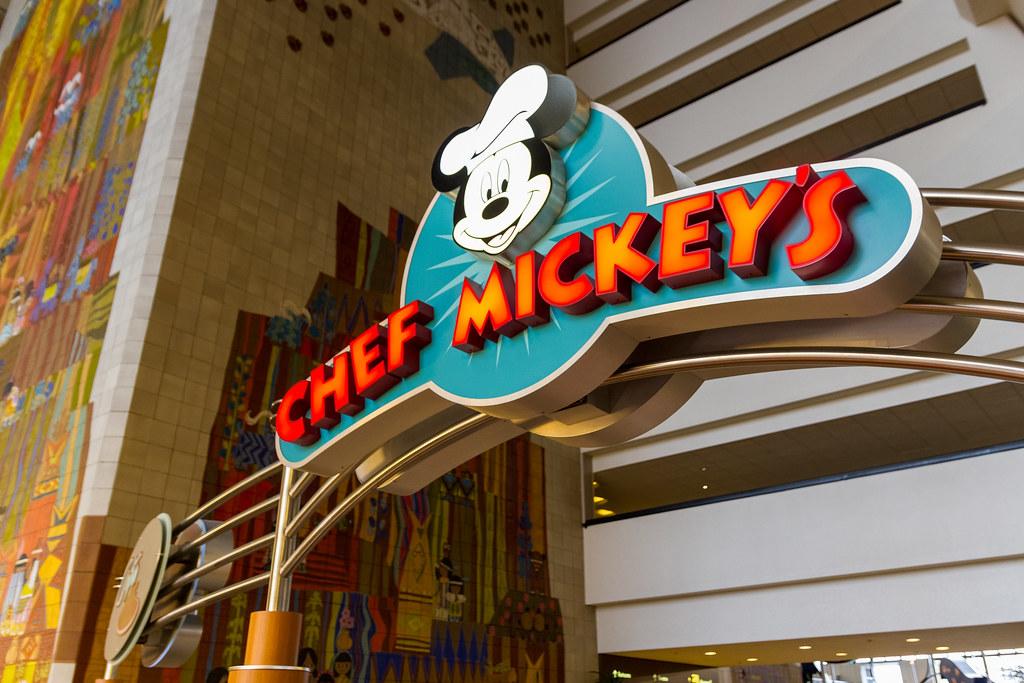 Contemporary Resort - Chef Mickey