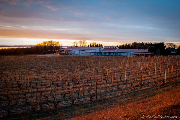 Chateau Grand Traverse at Sunset