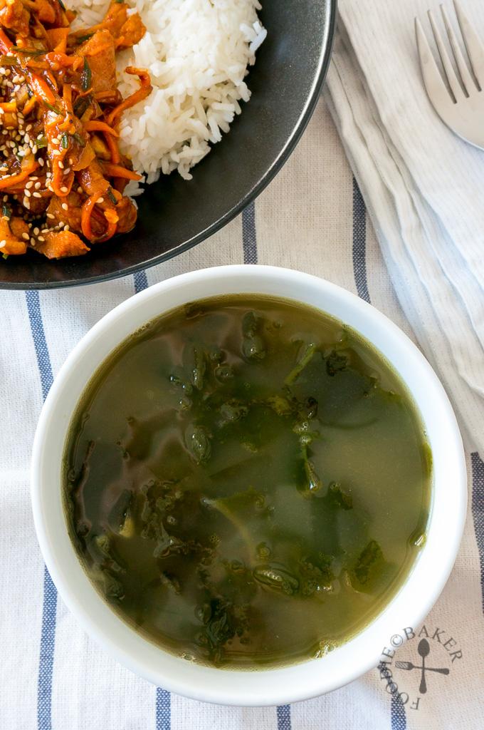 Seaweed Soup 미역국(Miyeokguk)