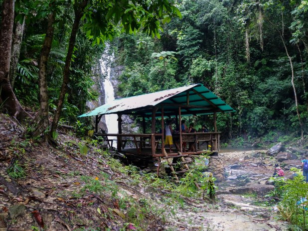 Ruta cascada Pamuayan