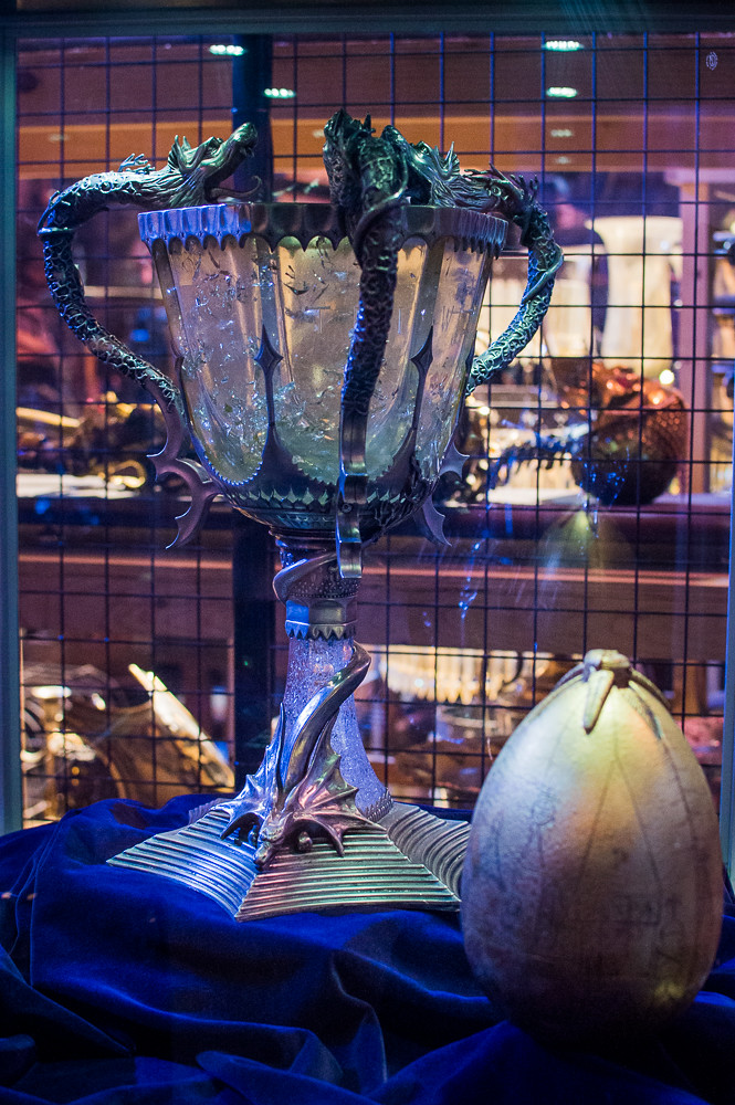 Warner Bros Studio London Harry Potter Triwizard Tournament Props