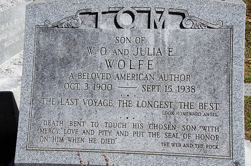 Thomas Wolfe Grave