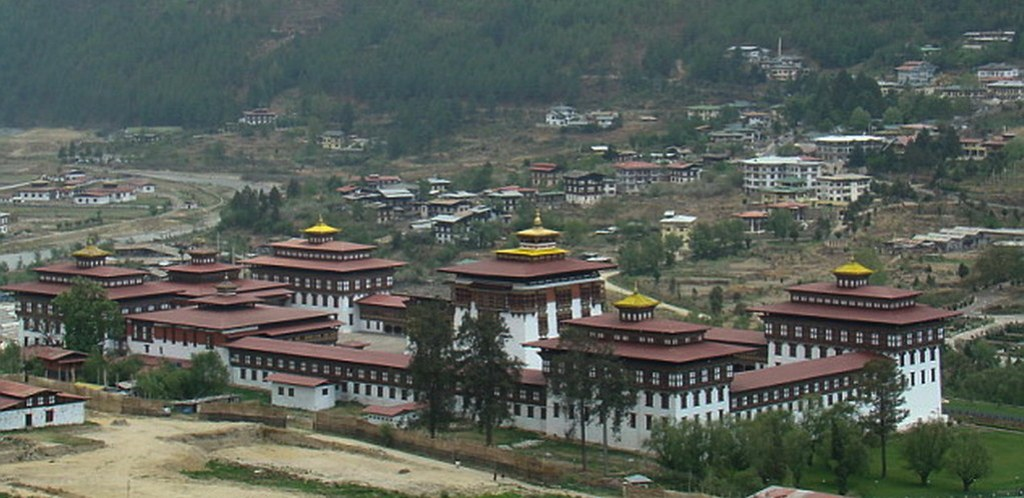 Bhutan-Thimbu-Tashichoe Dzong 12