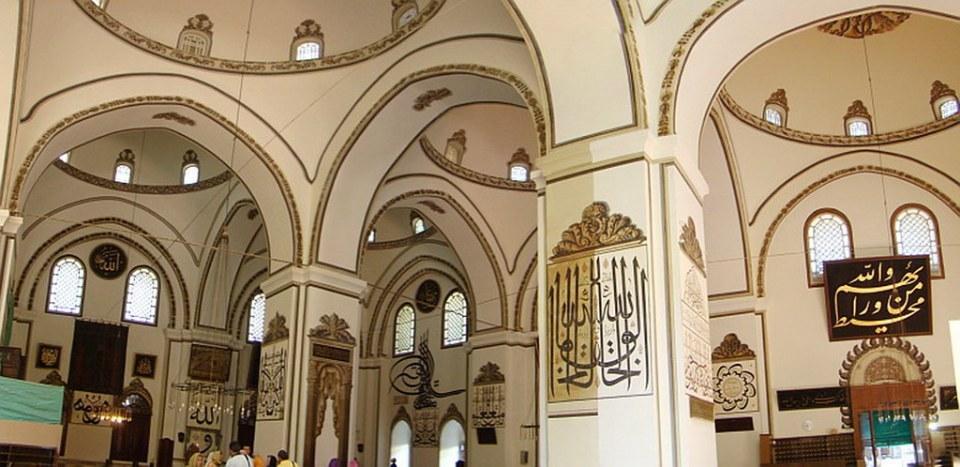 Bursa Gran Mezquita Ulu Cami Turquia 23