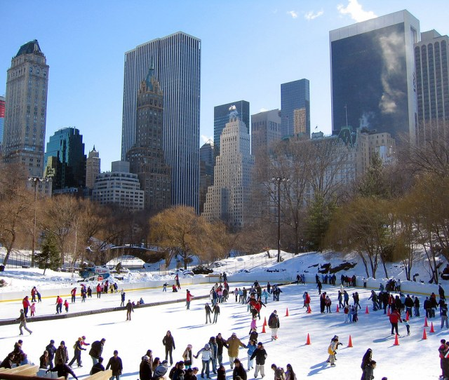 Wollman Rink By Tomas Fano New York Central Park Wollman Rink By Tomas Fano