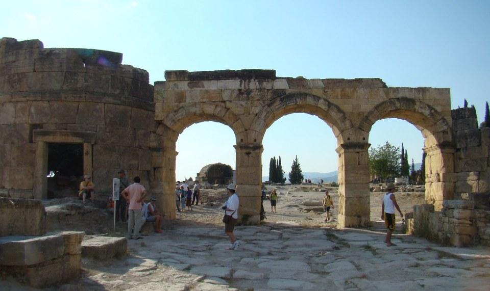 Turquia Hierapolis Puerta de Domiciano 13