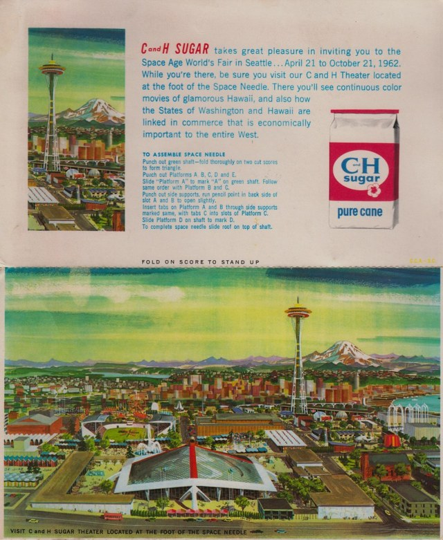 C & H Sugar Takes Great Pleasure in Inviting You To the Space Age World's Fair in Seattle