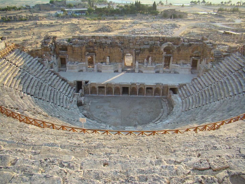 Turquia Hierapolis Teatro 44