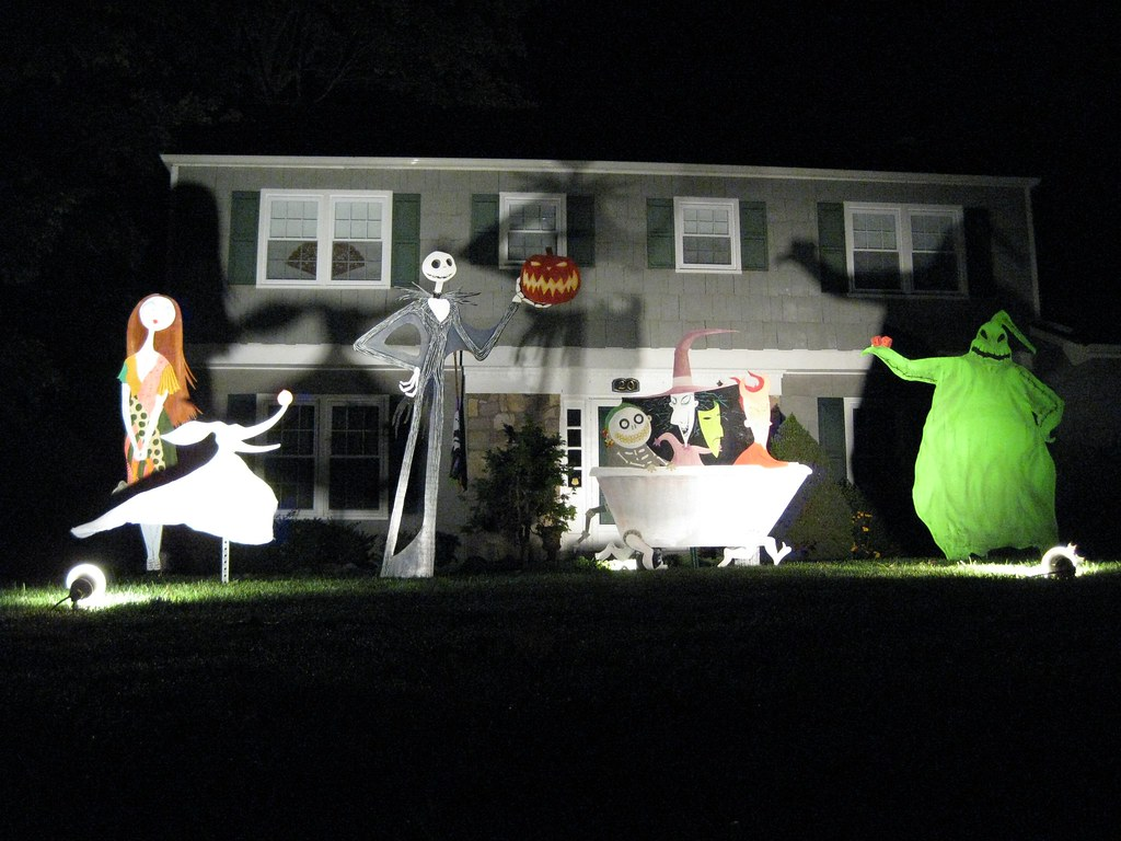 Nightmare Before Christmas House Decor