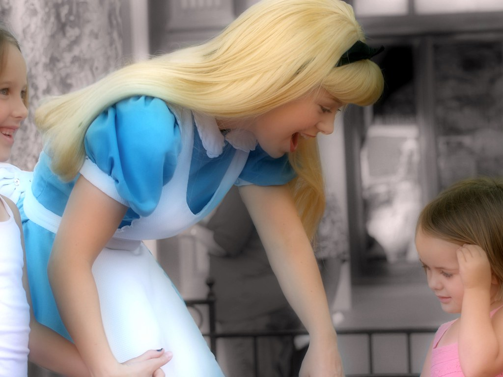 Disney – She took them to her Wonderland (Explored)