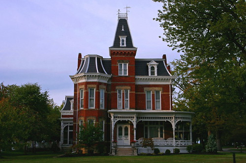 Fancy House In Port Clinton One Of The Many Victorian
