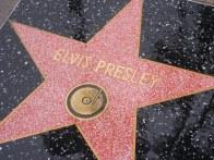 Resultado de imagem para hollywood sidewalk stars elvis presley