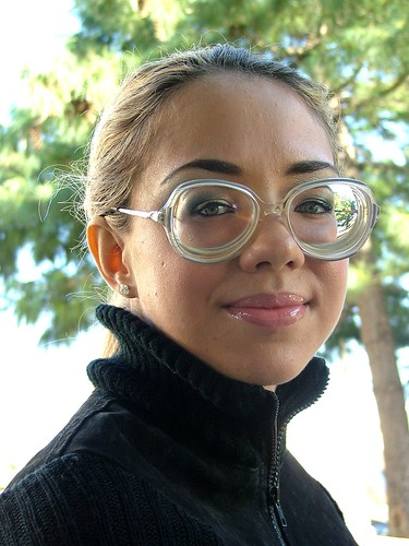 Sexy French Girl Wearing Big Strong Glasses Amp Turtle Neck