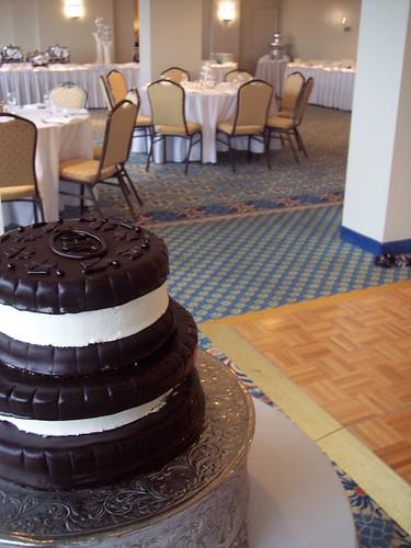 Oreo Cookie Novelty Wedding Cake Wilmington NC Carolina C