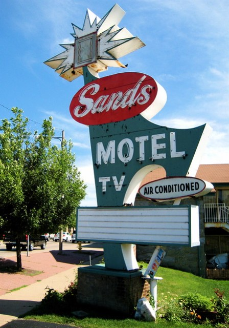 Sands Motel Sign, Ottawa IL