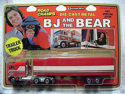 Road Champs BJ And The Bear Trailer Truck Road