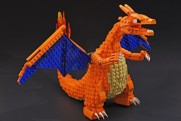 Lego Charizard I Choose You The Brothers Brick The Brothers Brick