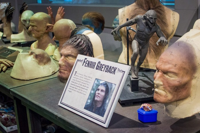 Warner Bros Studio London Harry Potter Fenrir Greyback