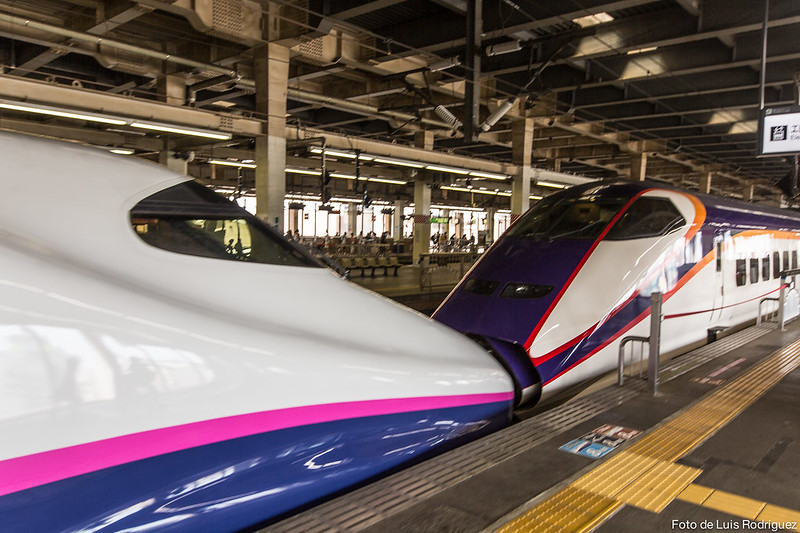 Shinkansen, ideal para viajar por Japón si disponemos de Japan Rail Pass