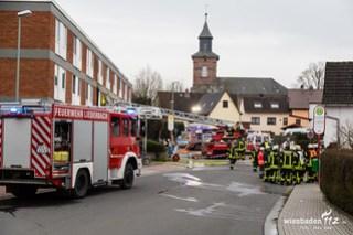 Feuer Asylunterkunft Liederbach Ts