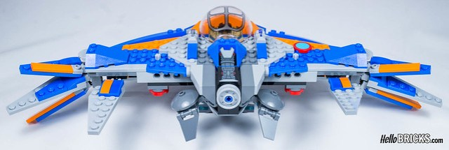 Lego 76081 - Guardians of the Galaxy Vol.2 - The Milano vs The Abilisk
