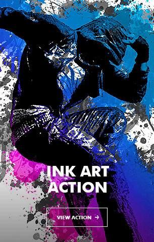 Ink Spray Photoshop Action V.1 - 12