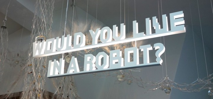 Would you live in a robot?