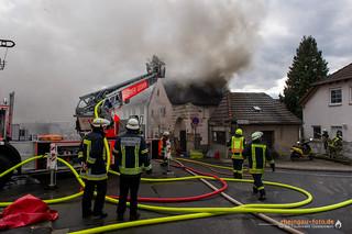 Gebäudebrand Geisenheim-Johannisberg 27.02.17