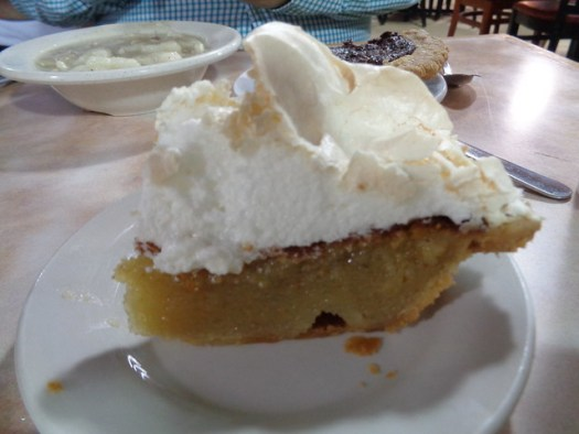 Chess Pie with Meringue, Arnold's Country Kitchen, Nashville TN