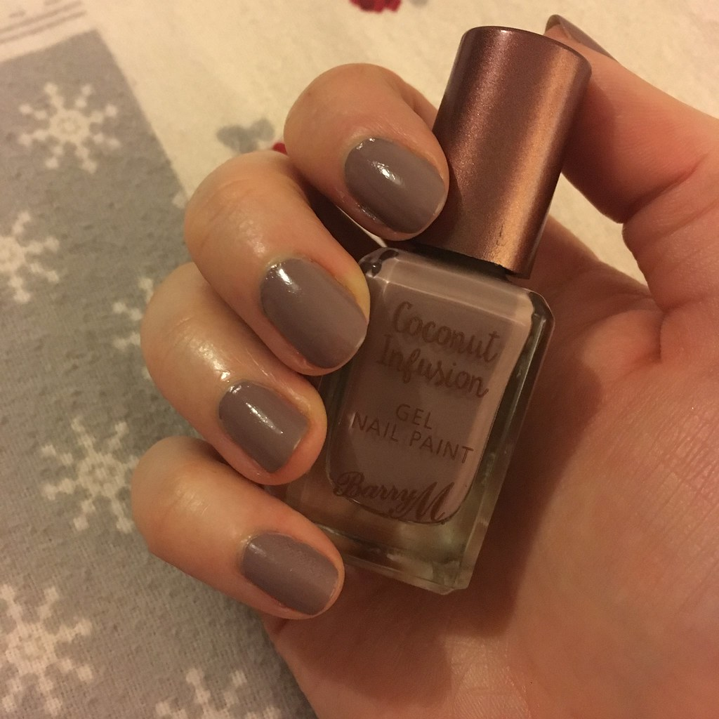 Barry M Nail Polish Coconut Infusion