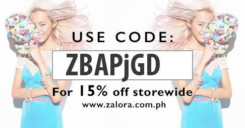 Shop at Zalora now!