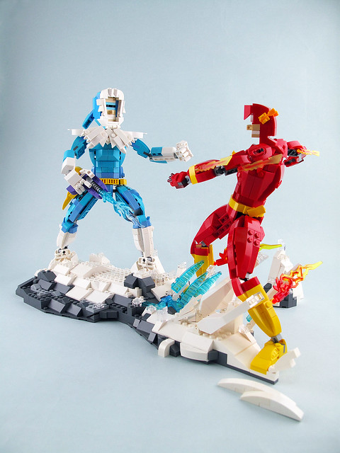 The Flash VS Captain Cold