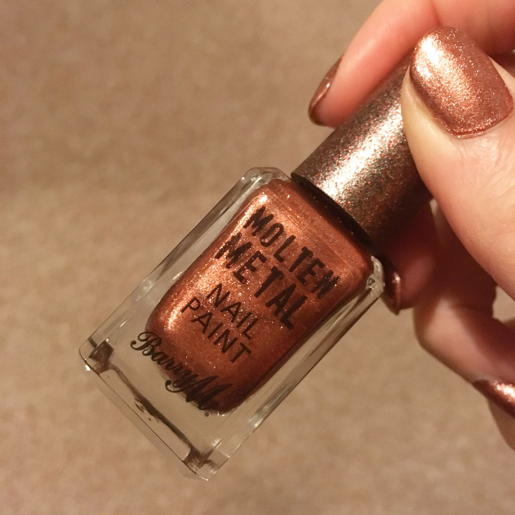 Barry M Nail Polish Molten Metal
