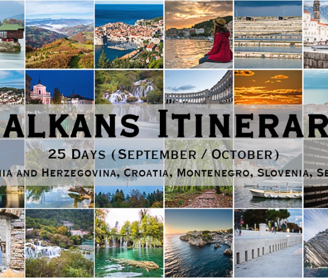 Fb Balkans Itinerary