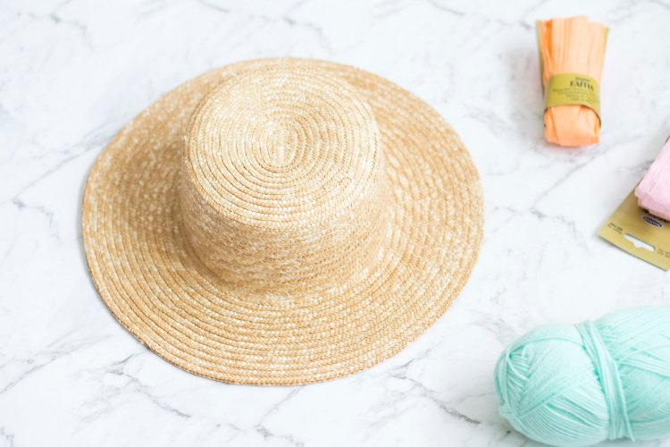 DIY Straw Hat
