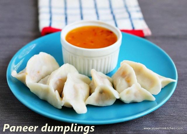 paneer- dumplings