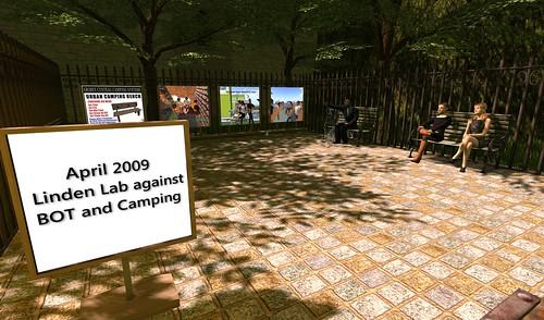 Camping Ban