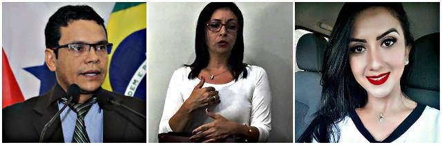 Juiz concede liminar para servidor acumular cargos de vereador e auditor fiscal, Valdir, Josilene e Tatiane Sá
