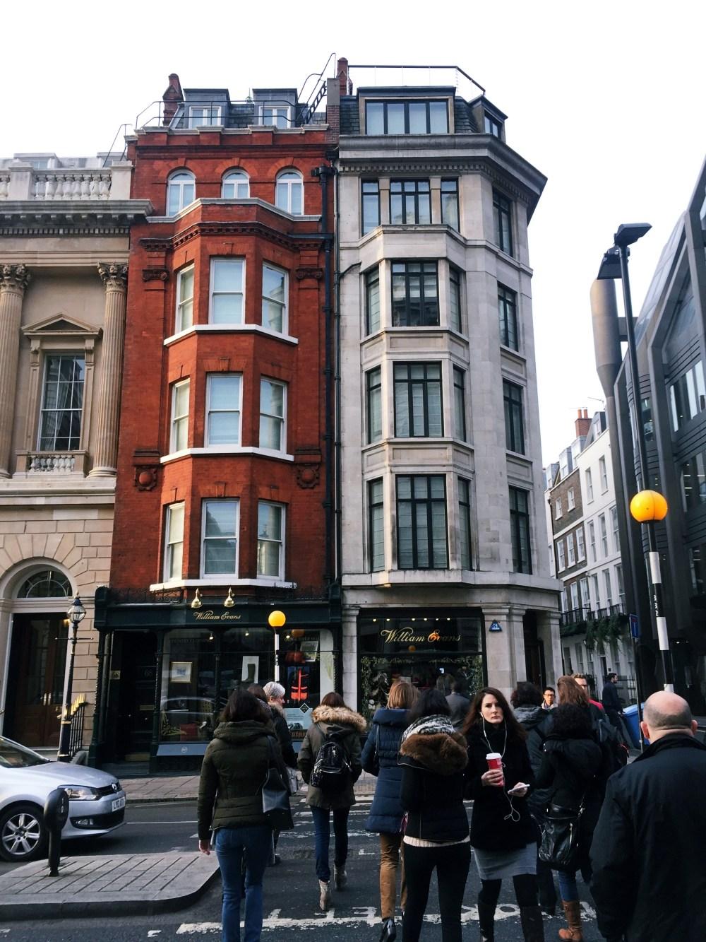 9 Dec 2016: St James's Street   London, England