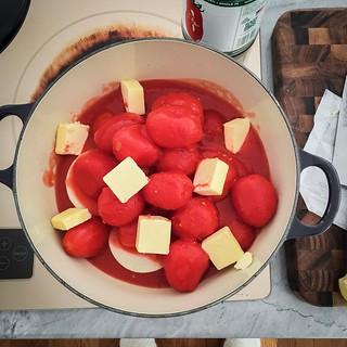 3 ingredient tomato sauce