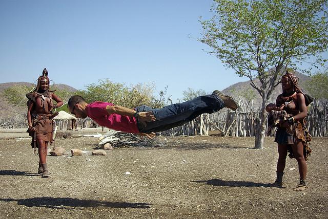 Volando entre himbas