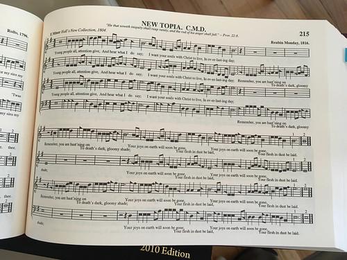 William Walker Memorial Shape Note Singing-8