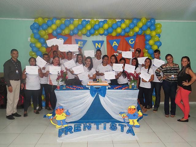 Formação profissional na Comunidade na Vila do Caquetá