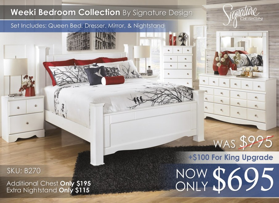 Weeki Poster Bedroom Collection B270-A-31-36-46-68-66-99-61-92