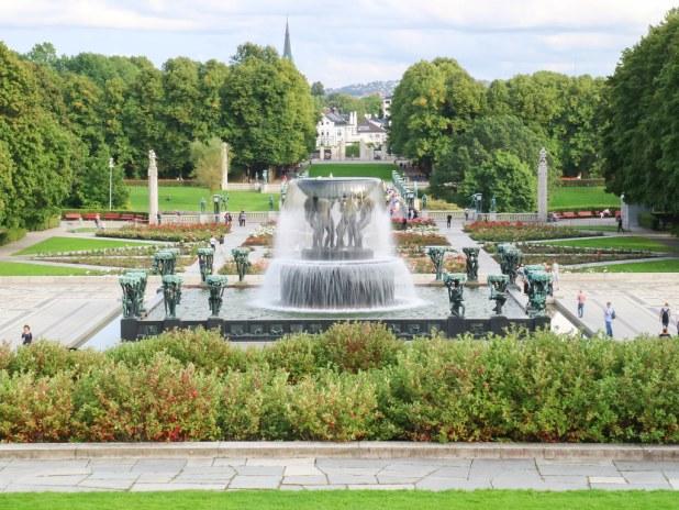 Parque Vigeland en Oslo