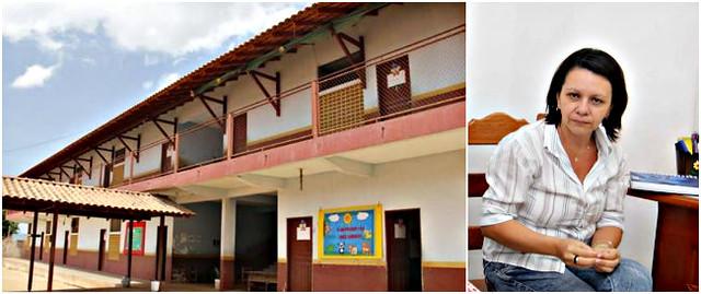vc. repórter. Ano letivo ainda não começou em 3 escolas em Óbidos, Escolas parada em Óbidos e a secretária de edcuação
